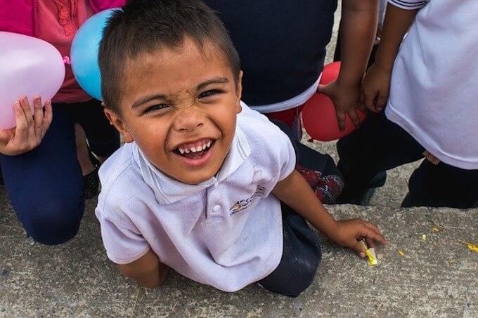 子供の笑顔
