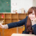 教室にいる女子