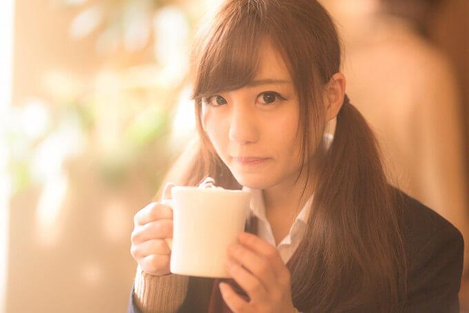 カフェと女子高生