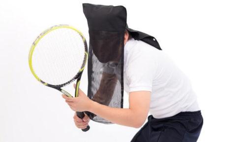 テニスの黒子