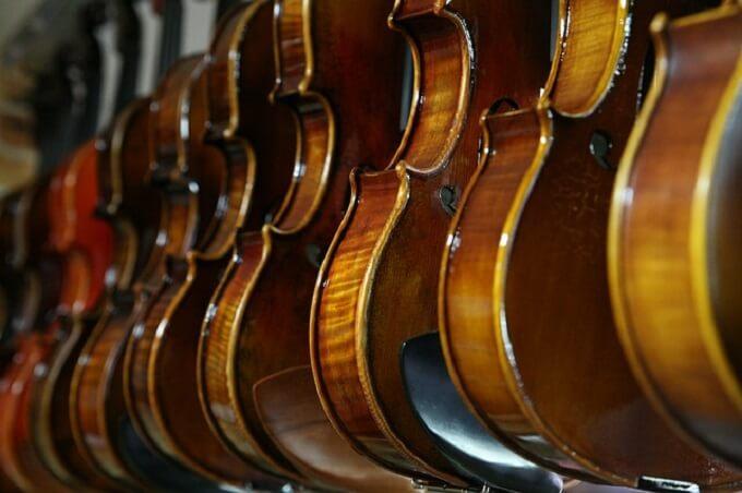 ギターとバイオリン