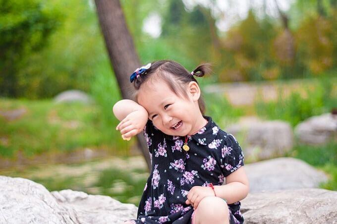 かわいい幼女